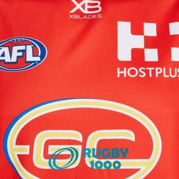 maillot AFL Guernsey gold coast suns domicile 2019<br /><span class=