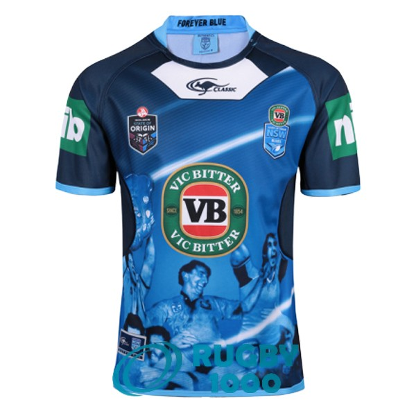 maillot rugby NSW blues domicile 2017