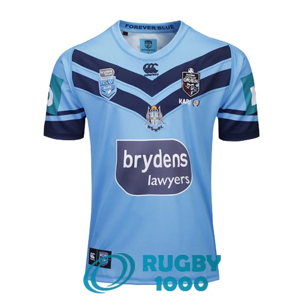 maillot rugby NSW blues domicile 2019