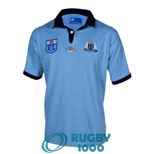 maillot rugby NSW blues rerto 1985