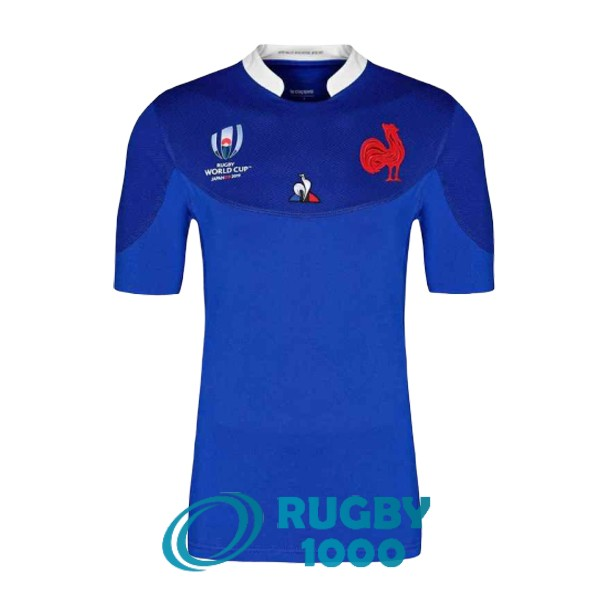 maillot rugby RWC france domicile 2019