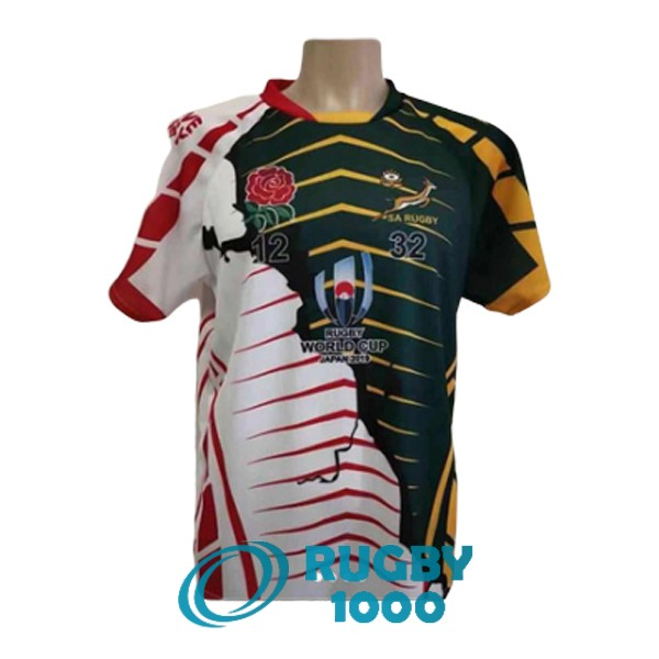 maillot rugby afrique du sud RWC champion 2019 [YM-335]