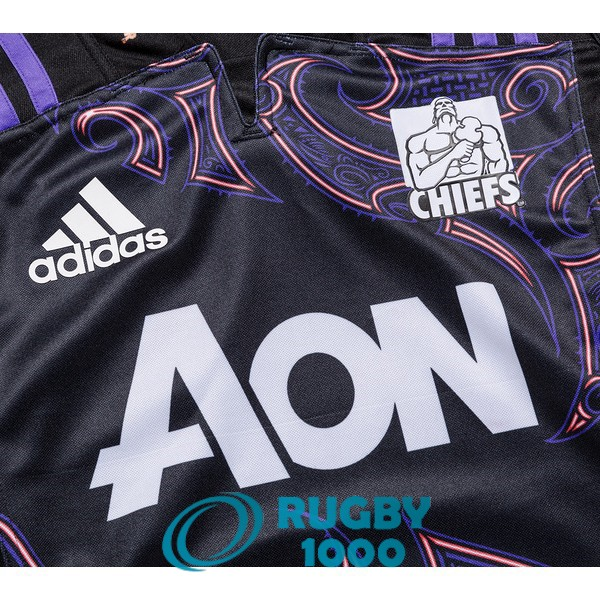 maillot rugby chiefs entrainement 2018-2019
