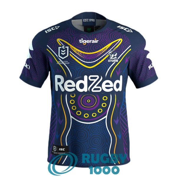 maillot rugby melbourne storm indigenous 2021