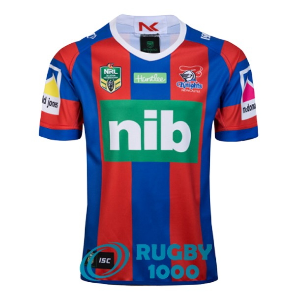 maillot rugby newcastle knights domicile 2018