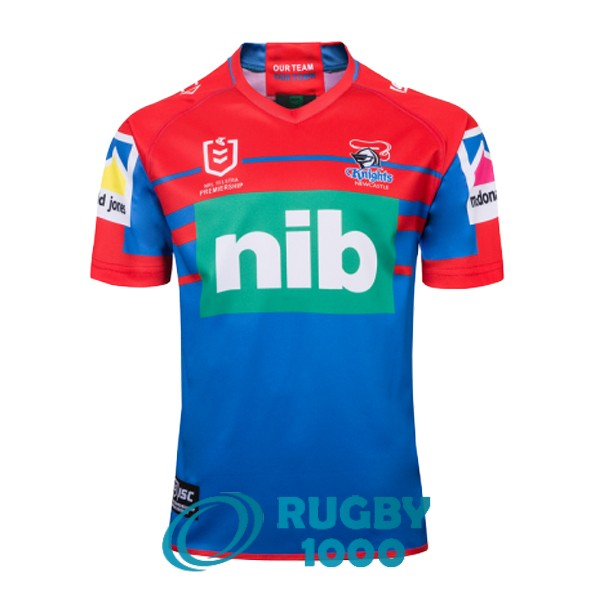 maillot rugby newcastle knights domicile 2019