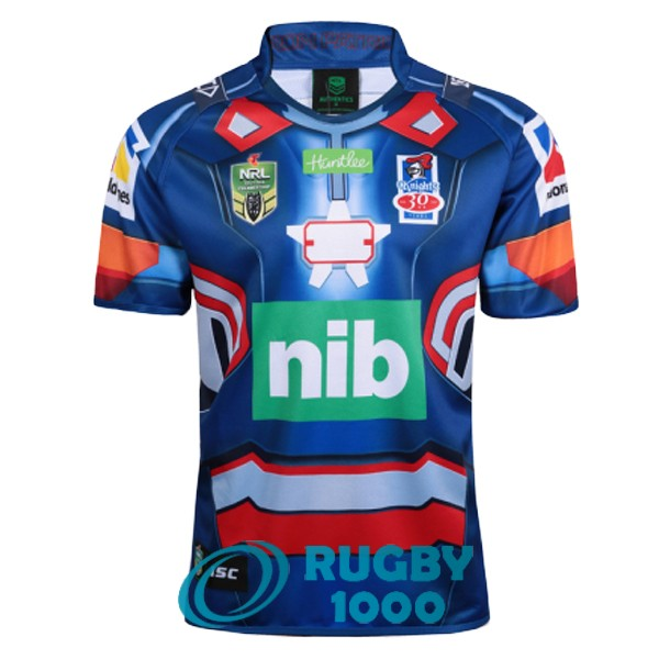 maillot rugby newcastle knights edition special territoire iron patriot marvel 2017