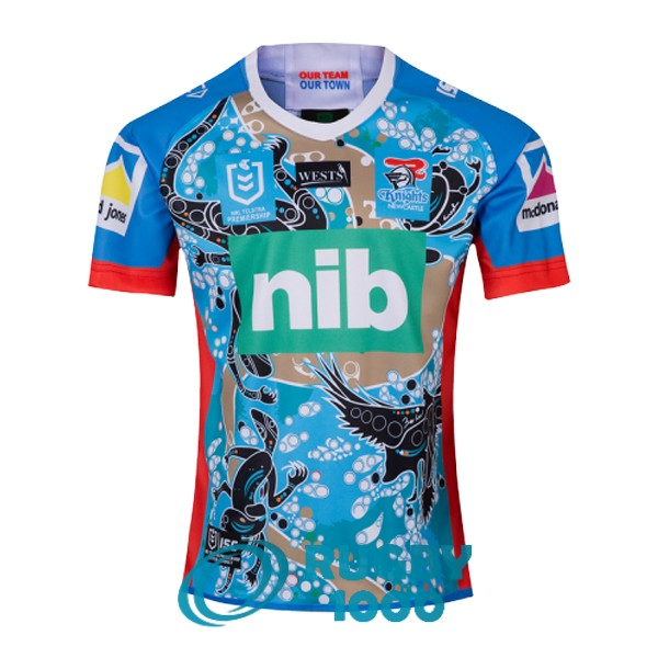 maillot rugby newcastle knights heros violet 2019