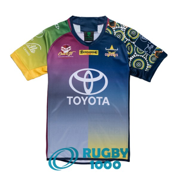 maillot rugby north queensland cowboys commemorative 2018-2019