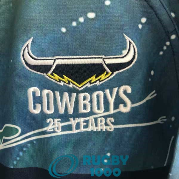 maillot rugby north queensland cowboys commemorative 2021