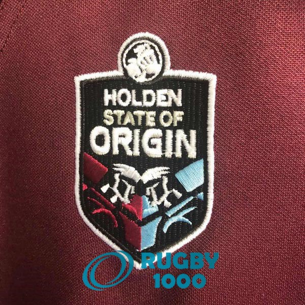 maillot rugby queensland maroons domicile 2020