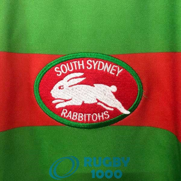 maillot rugby south sydney rabbitohs rerto 1989