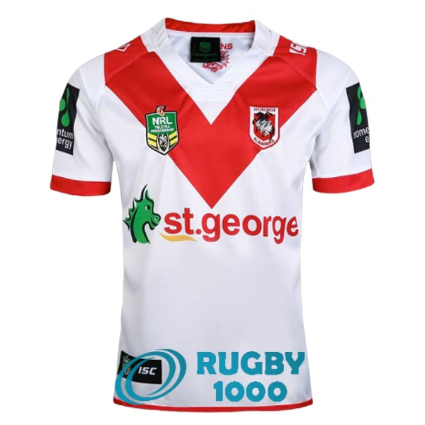 maillot rugby st george illawarra dragons domicile 2017