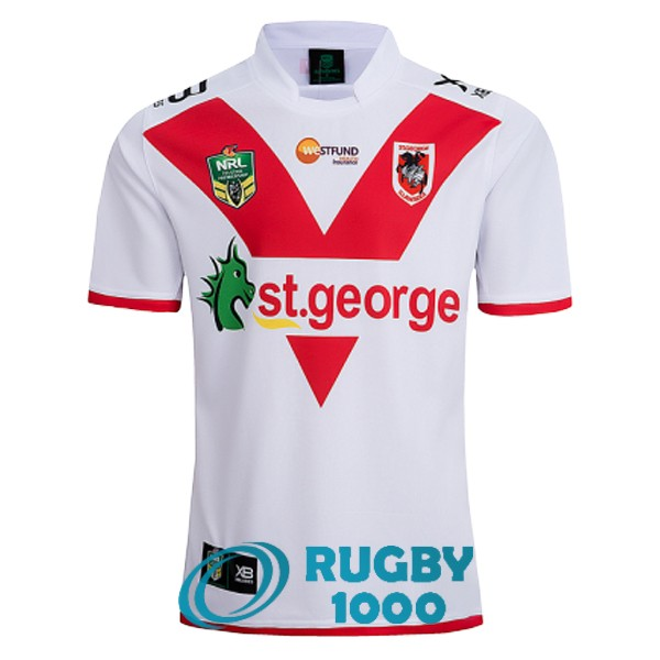 maillot rugby st george illawarra dragons domicile 2018-2019