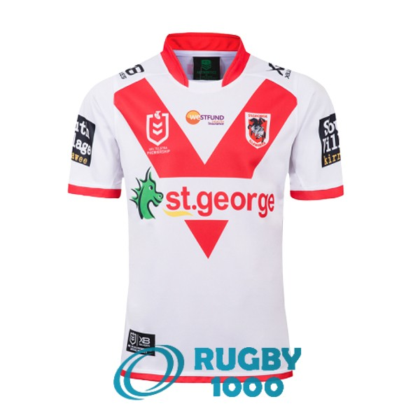 maillot rugby st george illawarra dragons domicile 2019