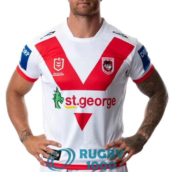 maillot rugby st george illawarra dragons domicile 2021