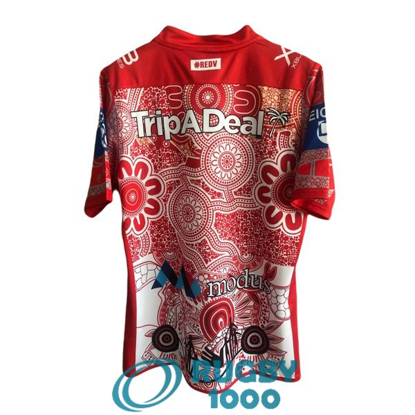 maillot rugby st george illawarra dragons indigenous 2021