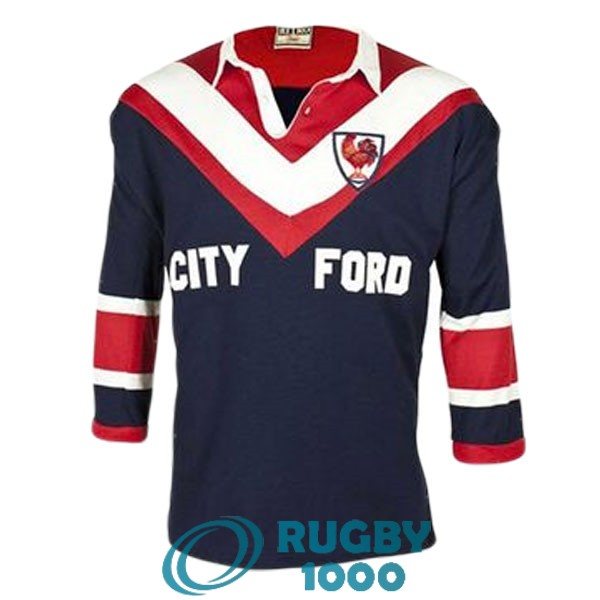 maillot rugby sydney roosters manche longue rerto 1976